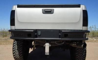 """Addictive Desert Designs - ADD R3023012801NA Dimple """"R"""" Rear Bumper Chevy Silverado 1500 2007-2013 - Image 2"""