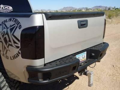 """Addictive Desert Designs - ADD R3023012801NA Dimple """"R"""" Rear Bumper Chevy Silverado 1500 2007-2013 - Image 3"""
