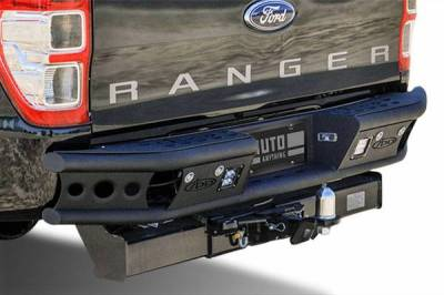"Addictive Desert Designs - ADD R3323012801NA Dimple ""R"" Rear Bumper Chevy Silverado 2500/3500 1999-2007 - Image 2"