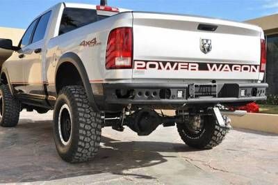"Addictive Desert Designs - ADD R3323012801NA Dimple ""R"" Rear Bumper Chevy Silverado 2500/3500 1999-2007 - Image 3"