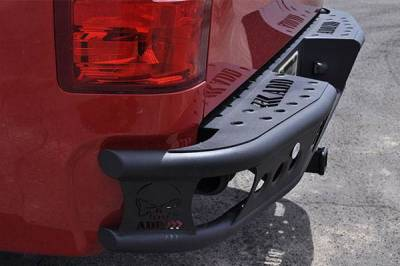 "Addictive Desert Designs - ADD R3323012801NA Dimple ""R"" Rear Bumper Chevy Silverado 2500/3500 1999-2007 - Image 4"