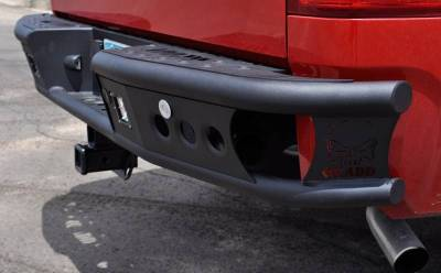 "Addictive Desert Designs - ADD R4122912800NA Dimple ""R"" Rear Bumper GMC Sierra 1500 2007-2013 - Image 2"
