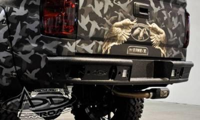 "Addictive Desert Designs - ADD R4223012801NA Dimple ""R"" Rear Bumper GMC Sierra 1500 2014-2015 - Image 2"