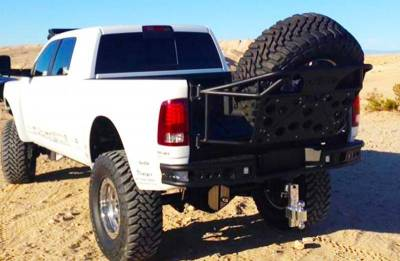 Addictive Desert Designs - ADD R5122912801NA Dimple Rear Bumper with Sensor Holes Dodge Ram 2500/3500 2010-2018 - Image 3