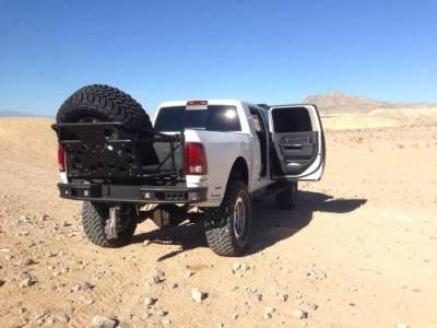 Addictive Desert Designs - ADD R5123012801NA Dimple Rear Bumper without Sensor Holes Dodge Ram 2500/3500 2010-2018 - Image 6