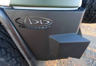 Addictive Desert Designs - ADD R8017013401NA Stealth Fighter Rear Bumper Toyota FJ Cruiser 2007-2014 - Image 4