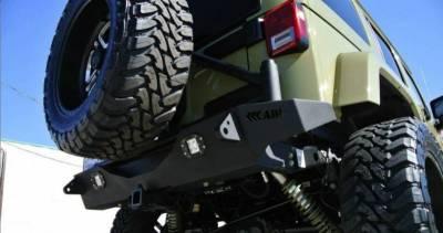 Addictive Desert Designs - ADD R9514313801NA Stealth Fighter Rear Bumper Jeep Wrangler JK 2007-2017 - Image 4