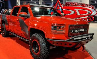 Addictive Desert Designs - ADD S28361NA01NA Standard Side Steps Chevy 1500 2014-2015 - Image 1