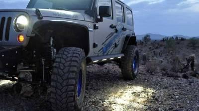 Addictive Desert Designs - ADD S9515215501NA Stealth Fighter Side Steps Jeep JK 2007-2018 - Image 2