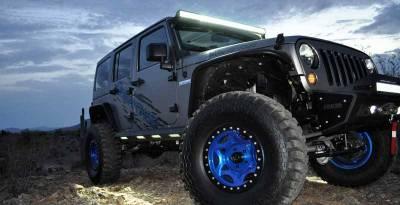 Addictive Desert Designs - ADD S9515215501NA Stealth Fighter Side Steps Jeep JK 2007-2018 - Image 3