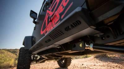 Addictive Desert Designs - ADD S9515215501NA Stealth Fighter Side Steps Jeep JK 2007-2018 - Image 6