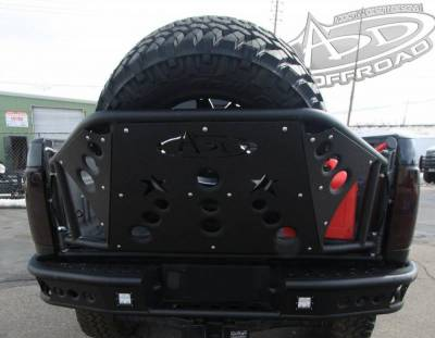 Addictive Desert Designs - ADD T29911NA0103 Rear Gate Tire Holder Chevy 2500/3500 2011-2014 - Image 3