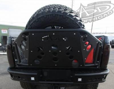 Addictive Desert Designs - ADD T31911NA0103 Rear Gate Tire Holder Chevy Silverado 2500/3500 2007-2010 - Image 3