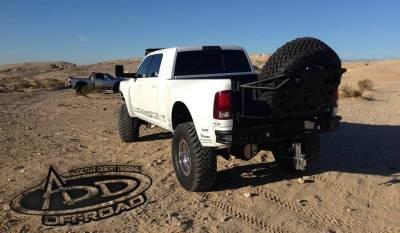 Addictive Desert Designs - ADD T51911NA0103 Rear Gate Tire Carrier Dodge Ram 2500/3500 2010-2015 - Image 4