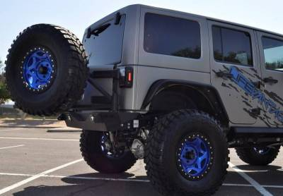 Addictive Desert Designs - ADD T95912NA01NA Rear Gate Tire Carrier Jeep JK 2007-2014 - Image 1