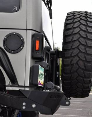 Addictive Desert Designs - ADD T95912NA01NA Rear Gate Tire Carrier Jeep JK 2007-2014 - Image 4