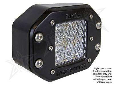 Rigid Industries - Rigid Industries 49010 Dually Side Angled Flush Mount Kit - Image 2