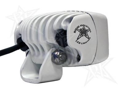 Rigid Industries - Rigid Industries 94211 M-Series SR-M Single Row Mini 20 Deg. Flood LED Light - Image 2