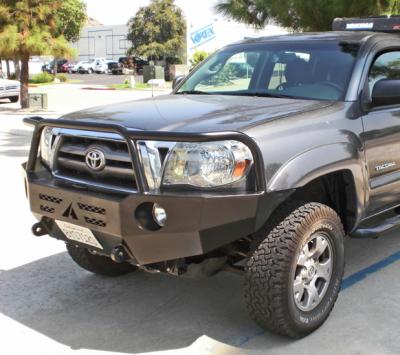 Aluminess - Aluminess 210099 Front Bumper with Brush Guard Toyota Tacoma 2005-2011 - Image 5