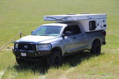 Aluminess - Aluminess 210006 Front Bumper with Brush Guard Toyota Tundra 2007-2013 - Image 2