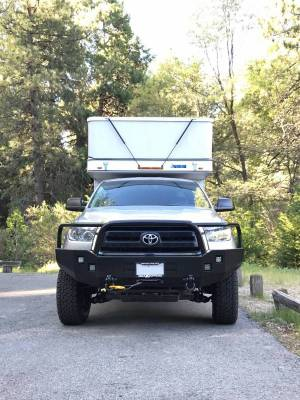 Aluminess - Aluminess 210006 Front Bumper with Brush Guard Toyota Tundra 2007-2013 - Image 3