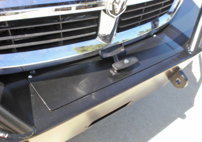 Aluminess - Aluminess 210166 Winch Front Bumper with Brush Guard Winch Ready Dodge Sprinter 2007-2013 - Image 3