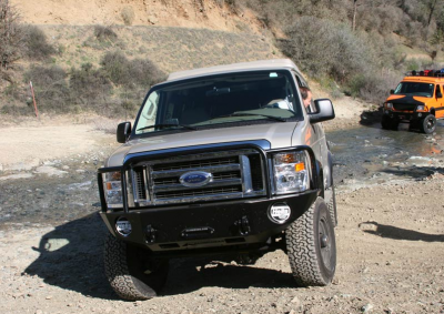 Aluminess - Aluminess 210048.1 Front Bumper without Brush Guard Ford E-Series 2008-2013 - Image 7