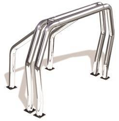 Exterior Lighting - Light Bar - Go Rhino - Go Rhino 9009516DSC Classic Off-Road Style Bed Bars Kit