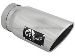Exhaust Pipes and Tail Pipes - Exhaust Tail Pipe Tip - aFe Power - aFe Power 49T50601-P12 MACH Force-Xp Exhaust Tip