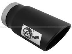 Exhaust Pipes and Tail Pipes - Exhaust Tail Pipe Tip - aFe Power - aFe Power 49T50601-B12 MACH Force-Xp Exhaust Tip