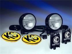 Exterior Lighting - Worklight - KC HiLites - KC HiLites 665 HID Flood/Work Light Shock Mount Housing