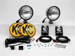 Exterior Lighting - Worklight - KC HiLites - KC HiLites 664 HID Flood/Work Light Shock Mount Housing