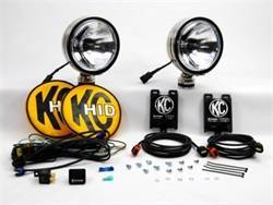 Fog/Driving Lights and Components - Driving Light - KC HiLites - KC HiLites 666 HID Driving Light Shock Mounted Housing