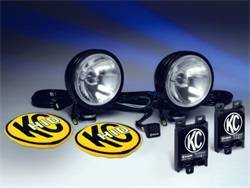 Fog/Driving Lights and Components - Driving Light - KC HiLites - KC HiLites 667 HID Driving Light Shock Mounted Housing