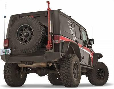 Bumper - Bumper- Rear - Warn - Warn 89525 Elite Series Rear Bumper