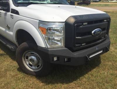 Hammerhead Bumpers - Hammerhead 600-56-0789 Low Profile LED Front Bumper Ford F250/F350 2008-2010 - Image 1