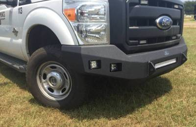 Hammerhead Bumpers - Hammerhead 600-56-0789 Low Profile LED Front Bumper Ford F250/F350 2008-2010 - Image 2