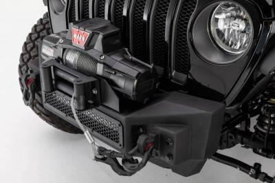 Go Rhino - Go Rhino 331100T Rockline Front Bumper Jeep Wrangler JL 2018-2019 - Image 1