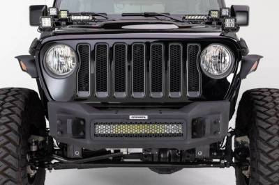Go Rhino - Go Rhino 331100T Rockline Front Bumper Jeep Wrangler JL 2018-2019 - Image 2