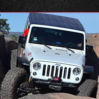 MCE Fenders - MCE Fenders FFJKG2-R Hi-Clearance Flat Flares Factory Width 2 Rear Jeep Wrangler JK 2007-2018 - Image 4