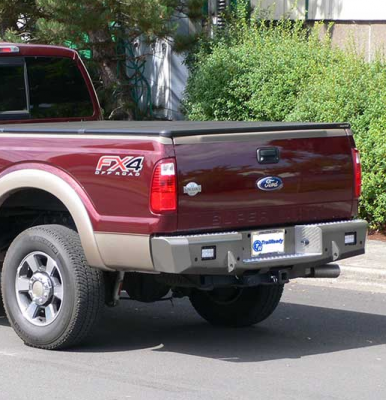 Trail Ready - Trail Ready RF8 Rear Bumper with D-Ring Tabs Ford Excursion 1999-2004 - Image 2
