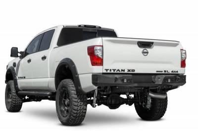 Addictive Desert Designs - ADD R911231280103 Stealth Fighter Rear Bumper Nissan Titan XD ONLY 2016-2018 - Image 6