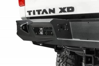 Addictive Desert Designs - ADD R911231280103 Stealth Fighter Rear Bumper Nissan Titan XD ONLY 2016-2018 - Image 7