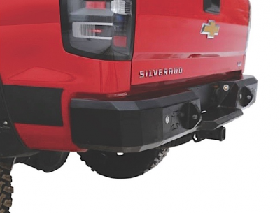 Iron Cross - Iron Cross 21-525-15-S Rear Bumper with Sensor Holes GMC Sierra 2500HD/3500 2015-2019 - Image 1