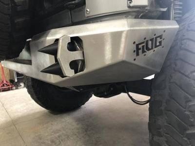 Flog Industries - Flog Industries FISD-JJK-0718R Rear Bumper Jeep Wrangler JK 2007-2018 - Image 1