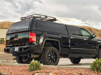 Flog Industries - Flog Industries FISD-G2535-1518R-S  Rear Bumper with Sensor Holes GMC Sierra 2500HD/3500 2015-2018 - Image 2