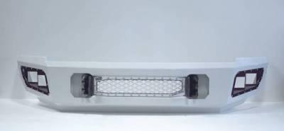 Flog Industries - Flog Industries FISD-C2535-1114F-S Front Bumper with Sensor Holes Chevrolet Silverado 2500HD/3500 2011-2014 - Image 1