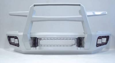 Flog Industries - Flog Industries FISD-C2535-1114F-S Front Bumper with Sensor Holes Chevrolet Silverado 2500HD/3500 2011-2014 - Image 2