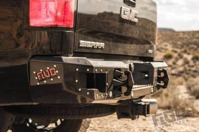 Flog Industries - Flog Industries FISD-C2535-1114R  Rear Bumper Chevrolet Silverado 2500HD/3500 2011-2014 - Image 1