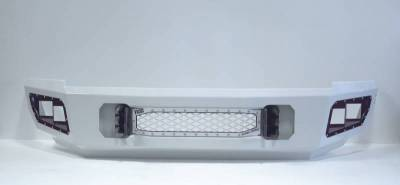 Flog Industries - Flog Industries FISD-G2535-0811F-S Front Bumper with Sensor Holes GMC Sierra 2500HD/3500 2007-2010 - Image 1